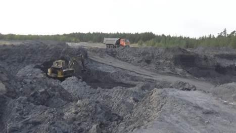 В Луганской области милиция крышевала незаконную добычу угля на карьере (ФОТО, ВИДЕО) (фото) - фото 1
