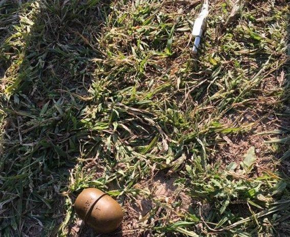 В киевском парке мужчина угрожал взорвать гранату (ФОТО) (фото) - фото 1
