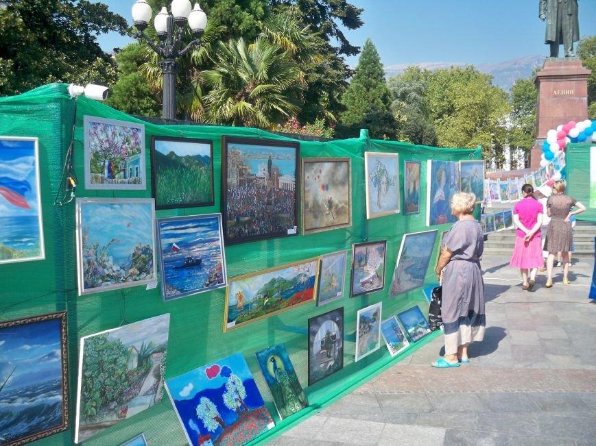 В Ялте прошел уникальный конкурс живописи при поддержке Ялтинской городской администрации, фото-1