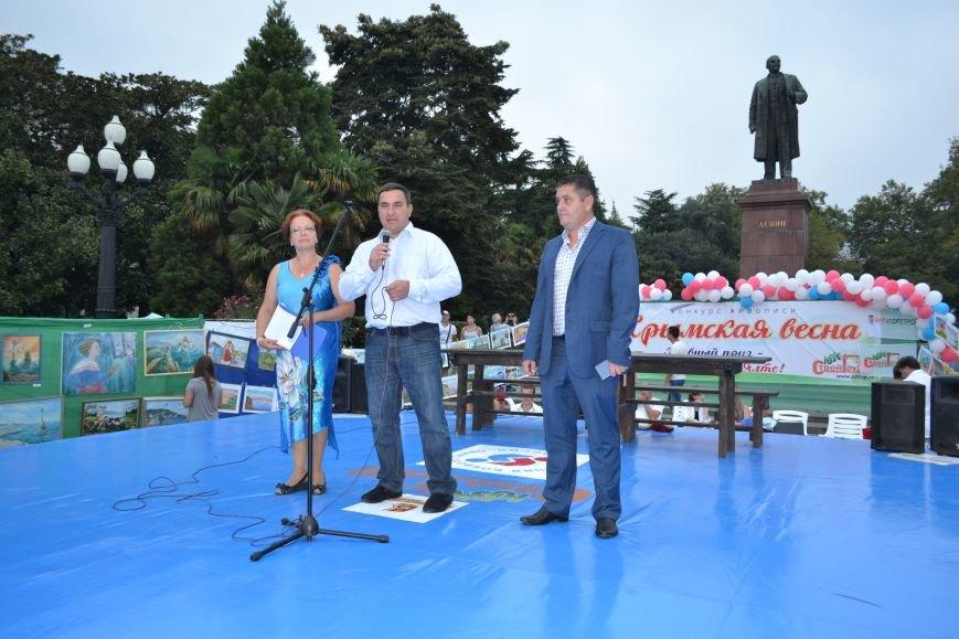 В Ялте прошел уникальный конкурс живописи при поддержке Ялтинской городской администрации, фото-2