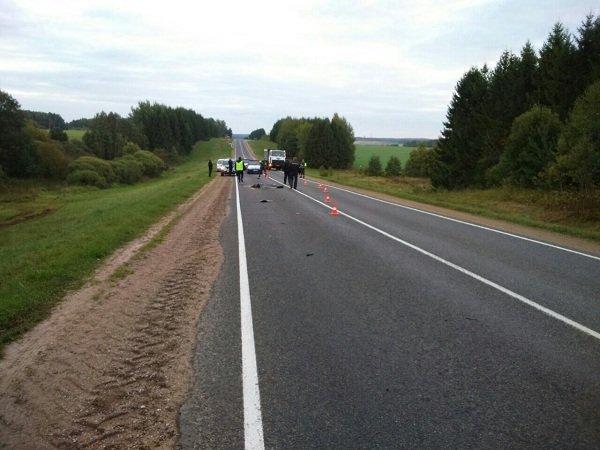 В Ошмянском районе водитель обнаружил труп посреди дороги (Фото 18+) (фото) - фото 1