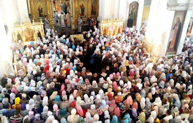 У день Різдва Богородиці Городищенський чоловічий монастир прийняв вірян із усієї області (Фото), фото-1
