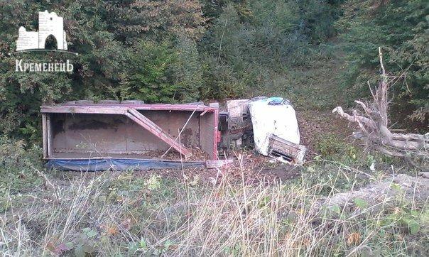На Тернопільщині зробила сальто вантажівка з буряками (фото) (фото) - фото 1