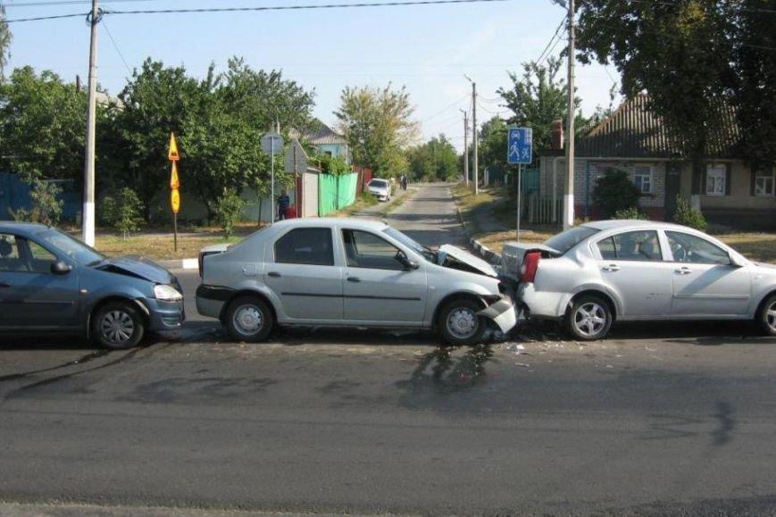 В Белгородской области «КамАЗ» протаранил «семёрку», фото-1