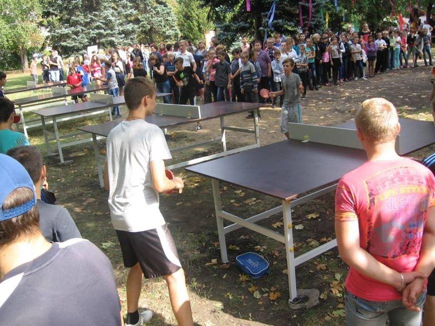 В сквере пос.Новодонецкое установлены 5 столов для пинг-понга (ФОТО), фото-4