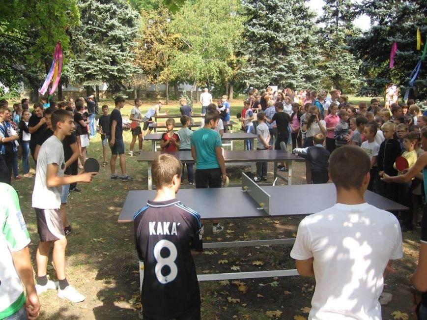 В сквере пос.Новодонецкое установлены 5 столов для пинг-понга (ФОТО), фото-7