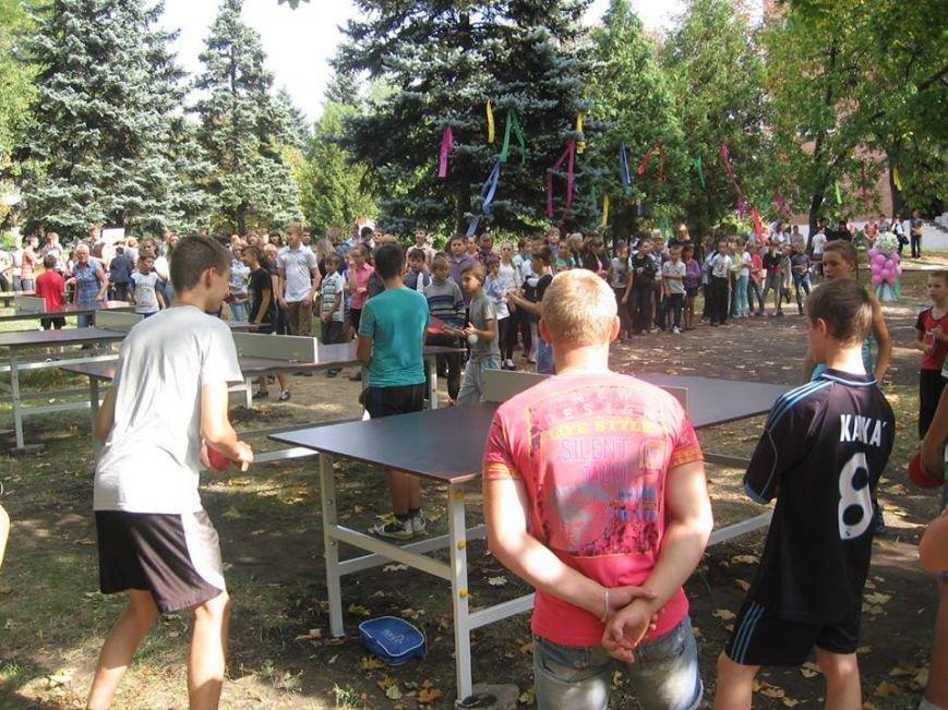 В сквере пос.Новодонецкое установлены 5 столов для пинг-понга (ФОТО), фото-10