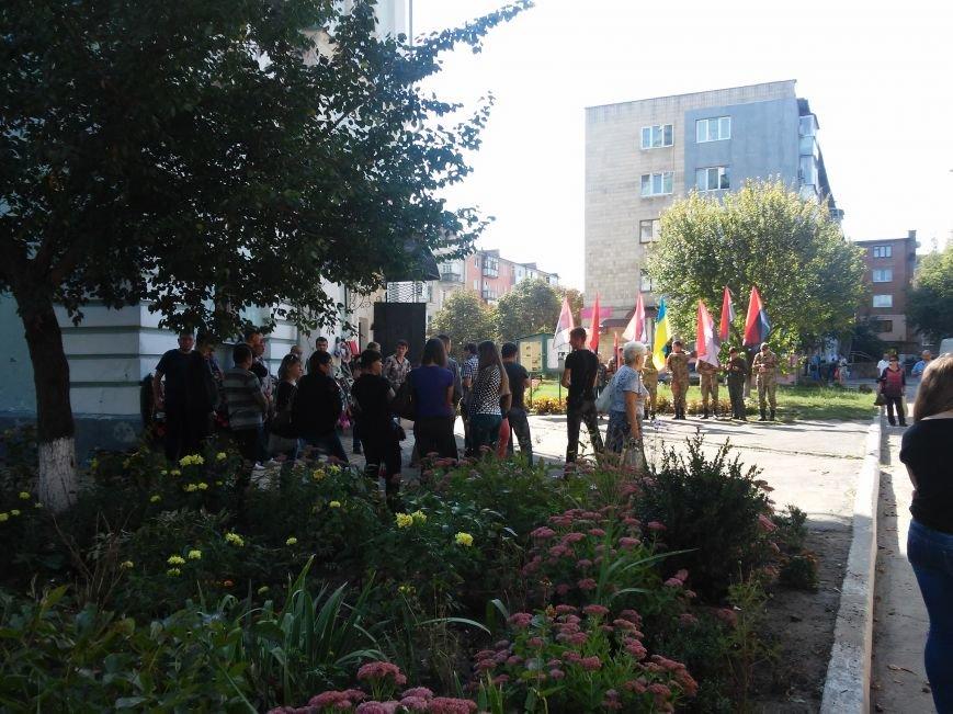 В Сумах прощались с погибшим бойцом «Правого сектора» (ФОТО), фото-3