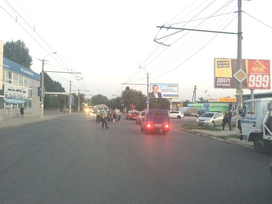 ДТП в Днепропетровске: столкнулись «Mitsubishi Lancer» и «Таврия» (ФОТО), фото-4