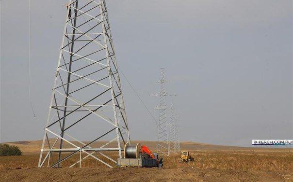 Пока Чубаров грозит Крыму энергетической блокадой, на полуострове уже натягивают провода энергомоста (ФОТОФАКТ) (фото) - фото 3