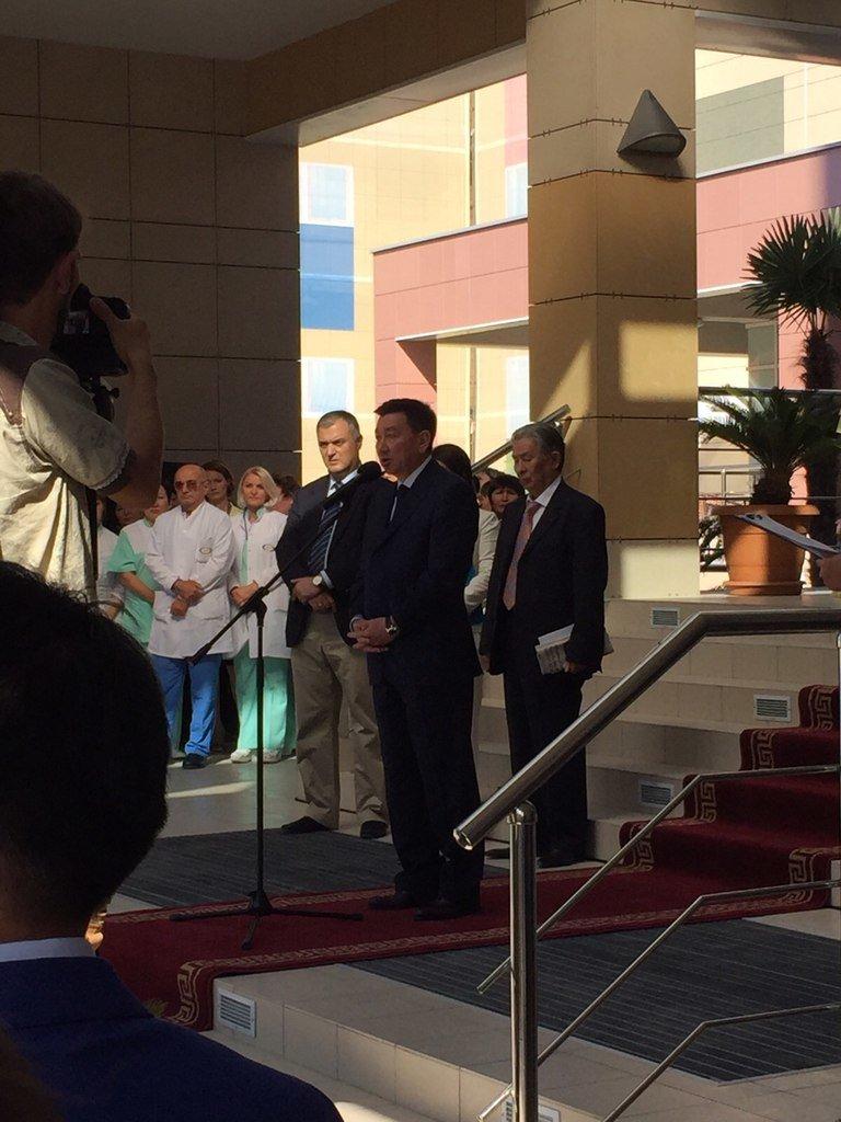 Открытие многопрофильной клиники «Sofie Med Group» в Актау (фото) (фото) - фото 1