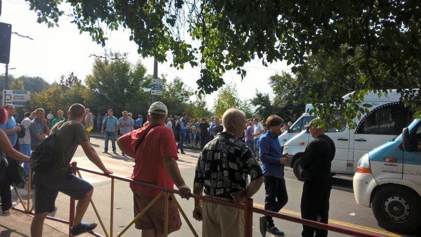 До протестувальників вийшла міська влада, але ситуація залишається невирішеною, Кам'янецька досі «знерухомлена» (Фото) (фото) - фото 3
