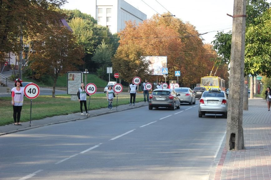 Водіям та пішоходам нагадали про безпеку, фото-1