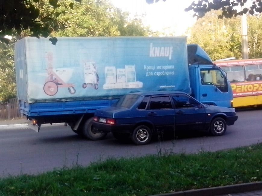 ДТП по вулиці Галицька (ФОТО) (фото) - фото 1
