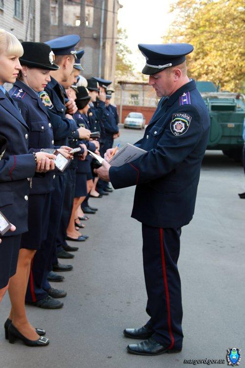 В Мариуполе проверили милиционеров: внешний вид, обмундирование и нахождение на рабочих местах (ФОТО), фото-6