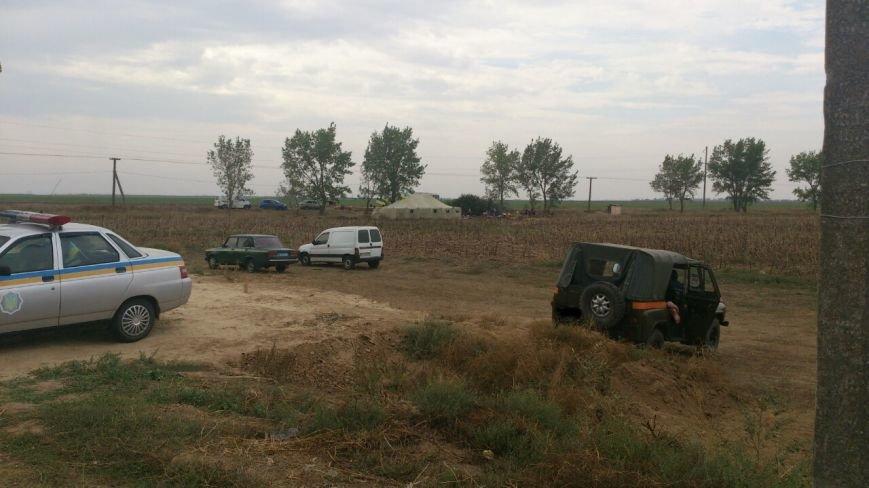 Криворожские активисты, участвующие в блокаде Крыма, проводят электричество к палаточному лагерю и готовятся к ротации (ФОТО), фото-5