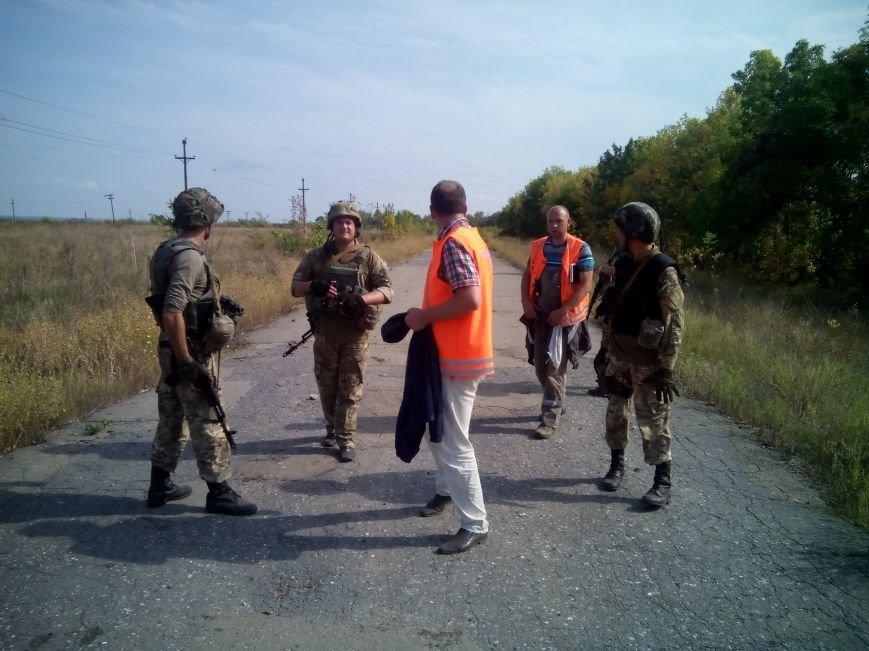 В Луганской области начали ремонт газопровода из Трехизбенки (ФОТО), фото-2