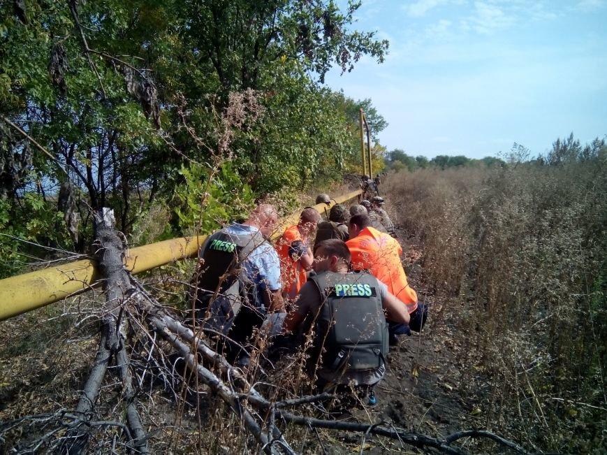 В Луганской области начали ремонт газопровода из Трехизбенки (ФОТО), фото-3