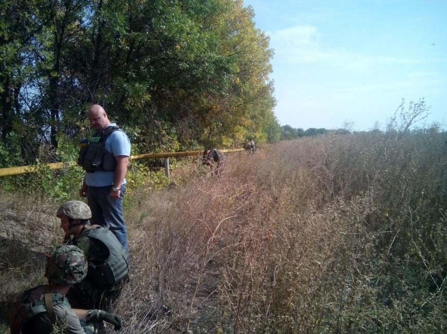 В Луганской области начали ремонт газопровода из Трехизбенки (ФОТО), фото-1