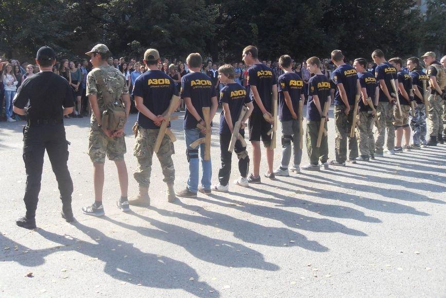 Полтавським школярам «Азов» показав елементи військової тактики (ФОТО) (фото) - фото 1