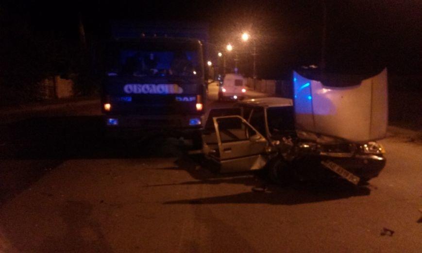 ДТП в Днепропетровске: столкнулись «ДАФ» и ЗАЗ-110307 (ФОТО), фото-3