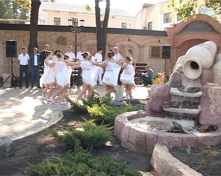 В Армавире открылся сквер «Маленькая Византия» (фото) - фото 1