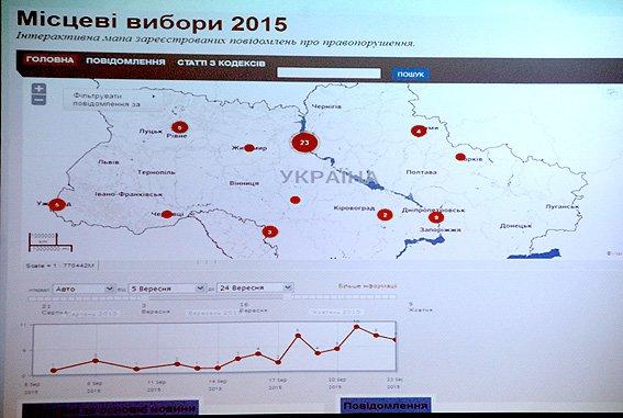 Кременчужане смогут следить онлайн за количеством и местом нарушений на выборах-2015 (фото) - фото 1