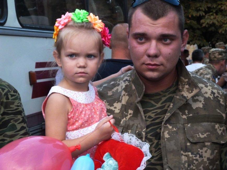 Кривой Рог встретил 144 демобилизованный бойцов, вернувшихся из зоны АТО (ФОТО) (фото) - фото 1