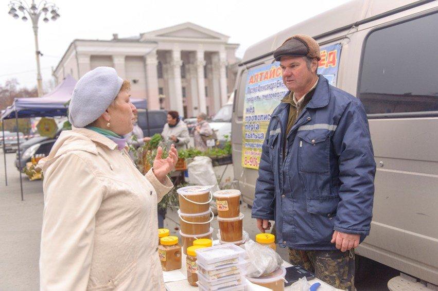 Осенняя ярмарка в Полевском. Фотофакт (фото) - фото 1