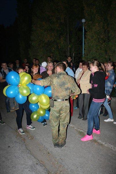 На Тернопільщині зустріли демобілізованих бійців АТО (фото) (фото) - фото 2