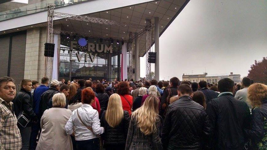 У Львові урочисто відкривають торговий центр «Форум Львів» (ФОТОРЕПОРТАЖ), фото-9