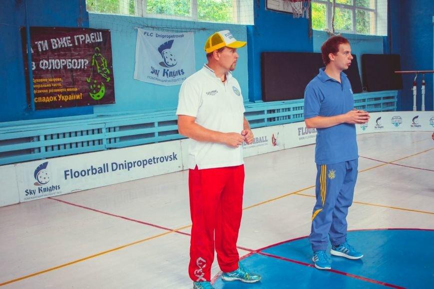 Стартовали городские соревнования по флорболу (ФОТО) (фото) - фото 1