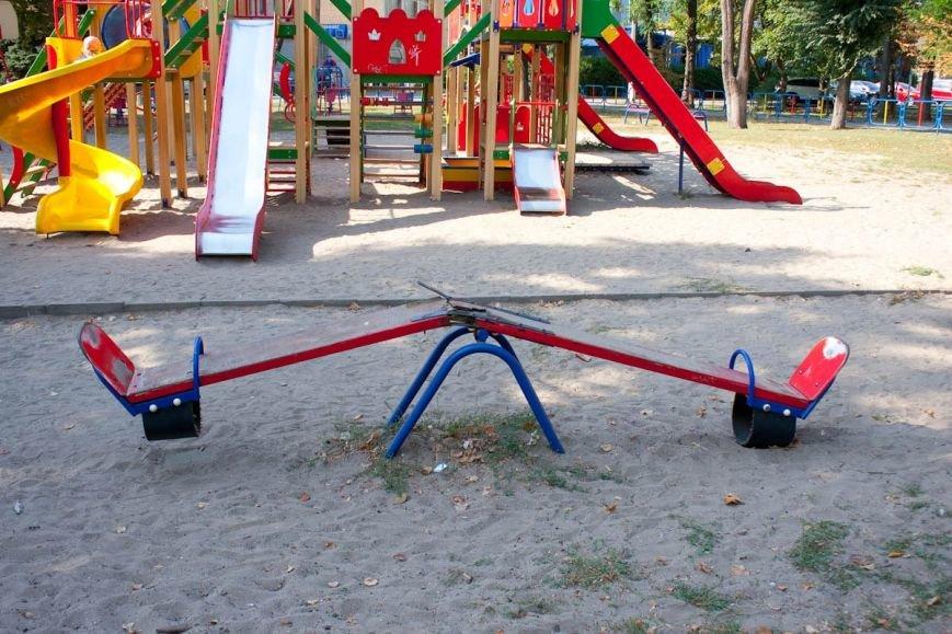 «Чиновничьи качели»: Вместо ремонта аварийной детской площадки криворожанину пишут отписки   (ФОТО), фото-7
