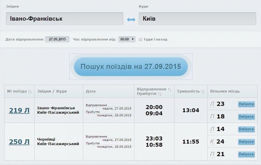 На вихідні Укрзалізниця призначила додаткові поїзди до Івано-Франківська (РОЗКЛАД) (фото) - фото 2