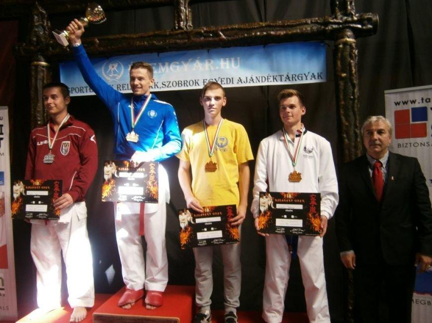 Сумчанин завоевал бронзу на Международном  турнире по карате (ФОТО), фото-1