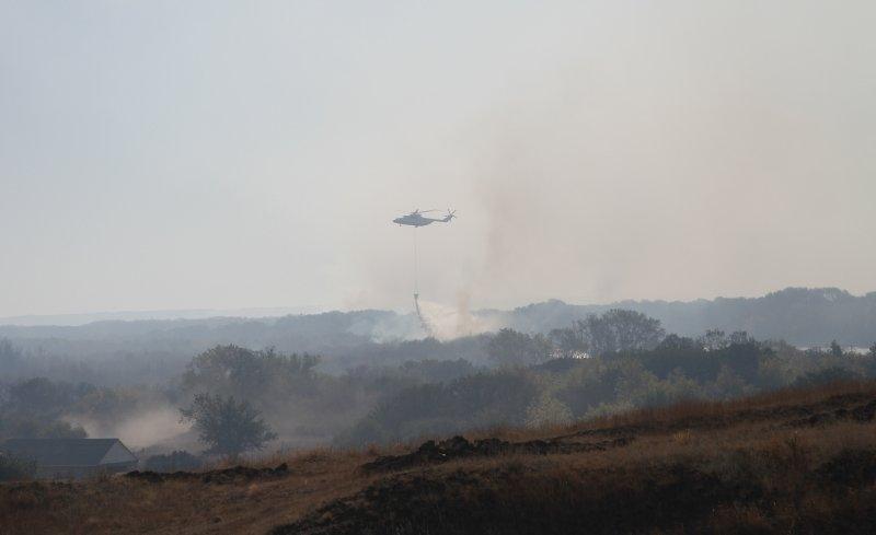 В Волгоградской области продолжается борьба с огнем, фото-2