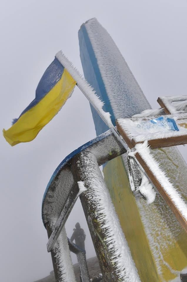 Як виглядає перший сніг на Говерлі? (ФОТО) (фото) - фото 1