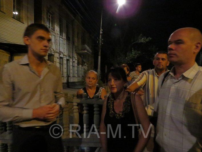 В Запорожской области пикетировали горотдел милиции (ФОТО) (фото) - фото 1