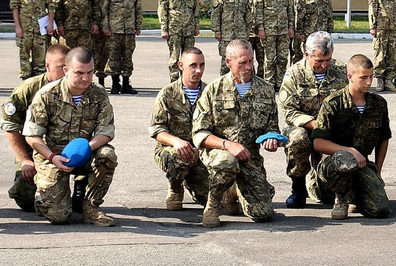 У Львові демобілізували воїнів-десантників третьої хвилі (ФОТО) (фото) - фото 1
