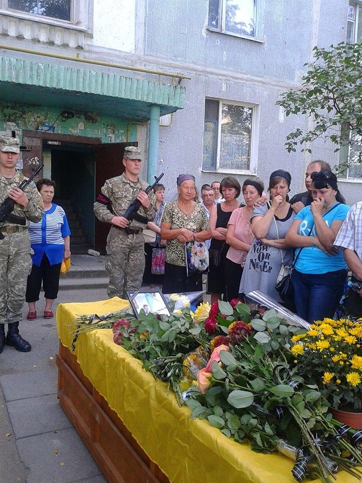 В Запорожье простились с погибшим бойцом, фото-7