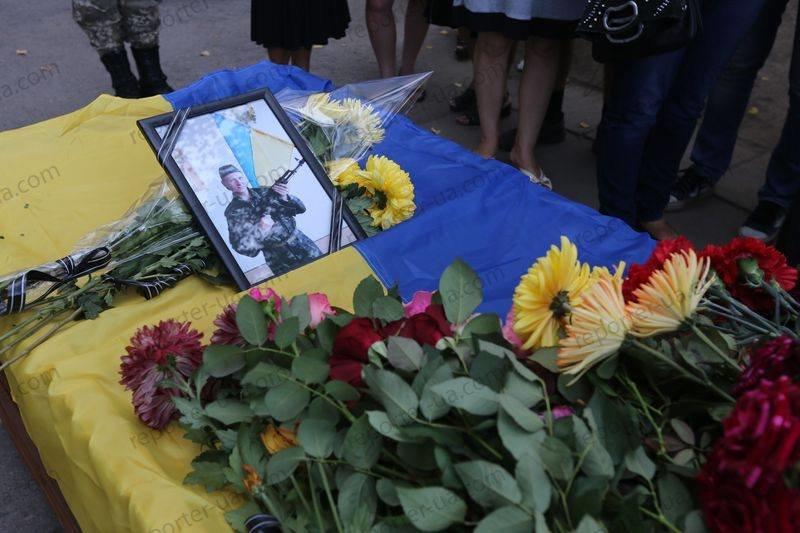 В Запорожье простились с погибшим бойцом, фото-8