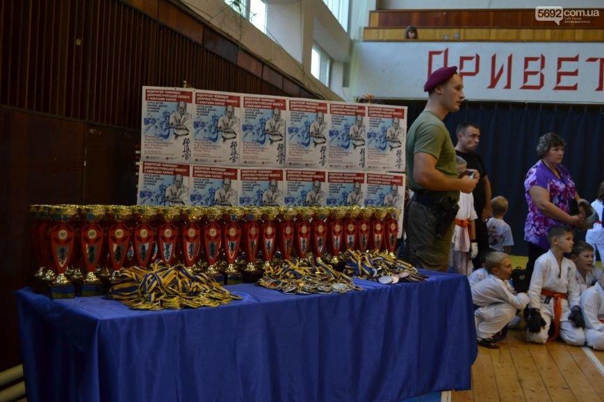 Днепродзержинск принял чемпионат области по киокушин карате, фото-1