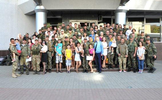 Бійці батальйону «Полтава» повернулися зі Сходу (фото) - фото 1