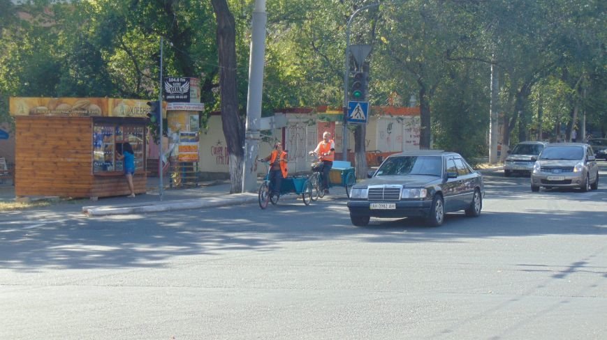 В Мариуполе появился экзотический транспорт (ФОТОФАКТ) (фото) - фото 2