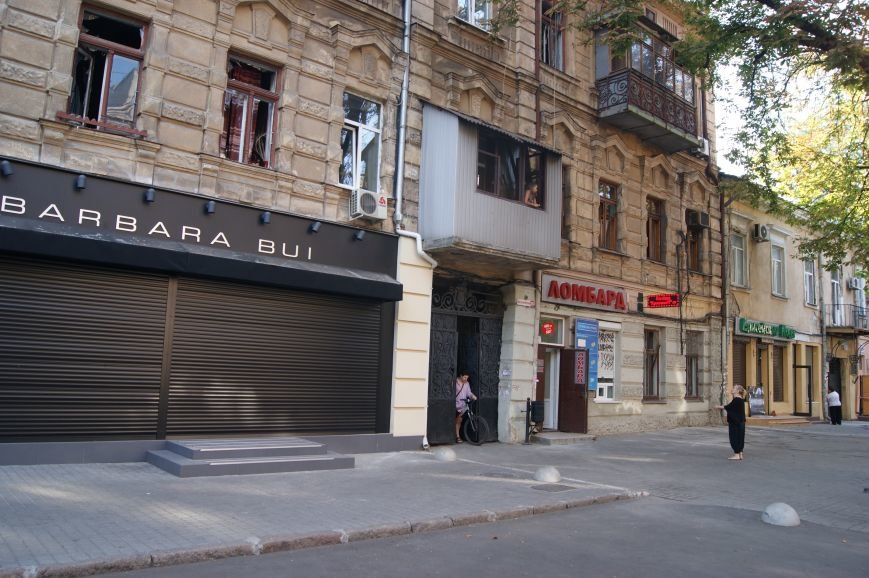 От взрыва в центре Одессы в пяти кварталах посыпались стекла (ФОТО) (фото) - фото 1