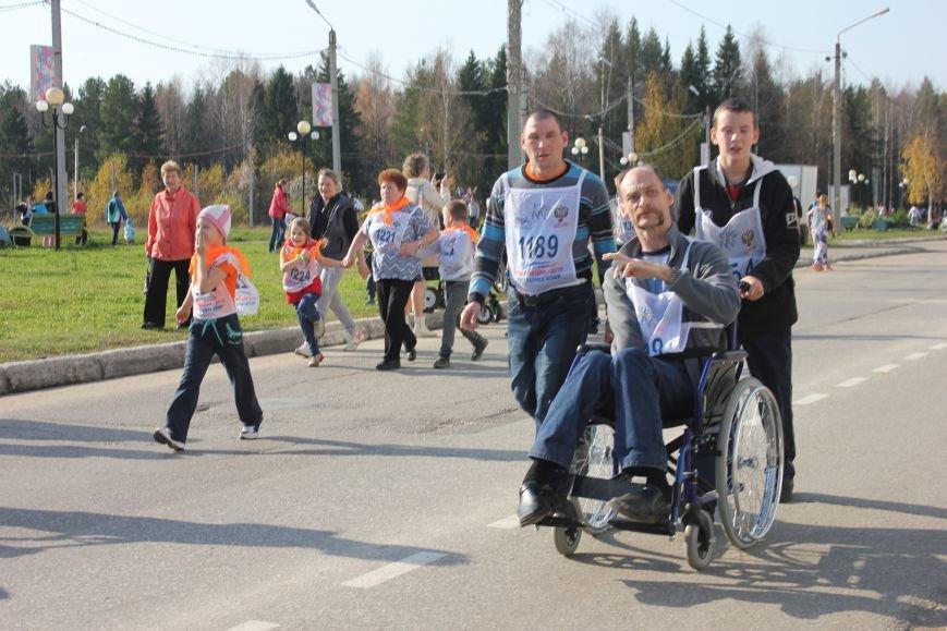 В эжвинском «Кроссе нации» приняли участие люди с инвалидностью, фото-1