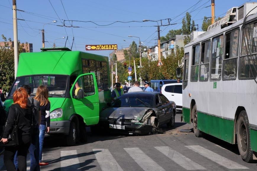 На День города в центре Краматорска произошли ДТП, фото-1
