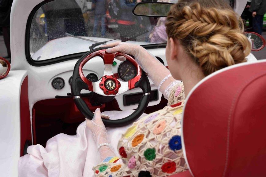 До Тернополя на ретро-автомобілі приїхали герої легендарної французької комедії (ФОТОРЕПОРТАЖ), фото-6