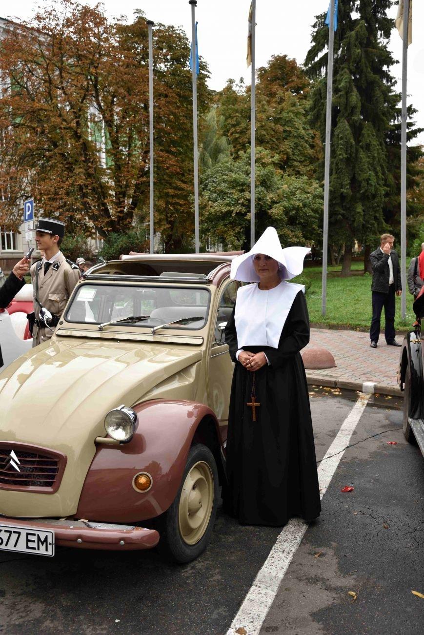 До Тернополя на ретро-автомобілі приїхали герої легендарної французької комедії (ФОТОРЕПОРТАЖ), фото-12