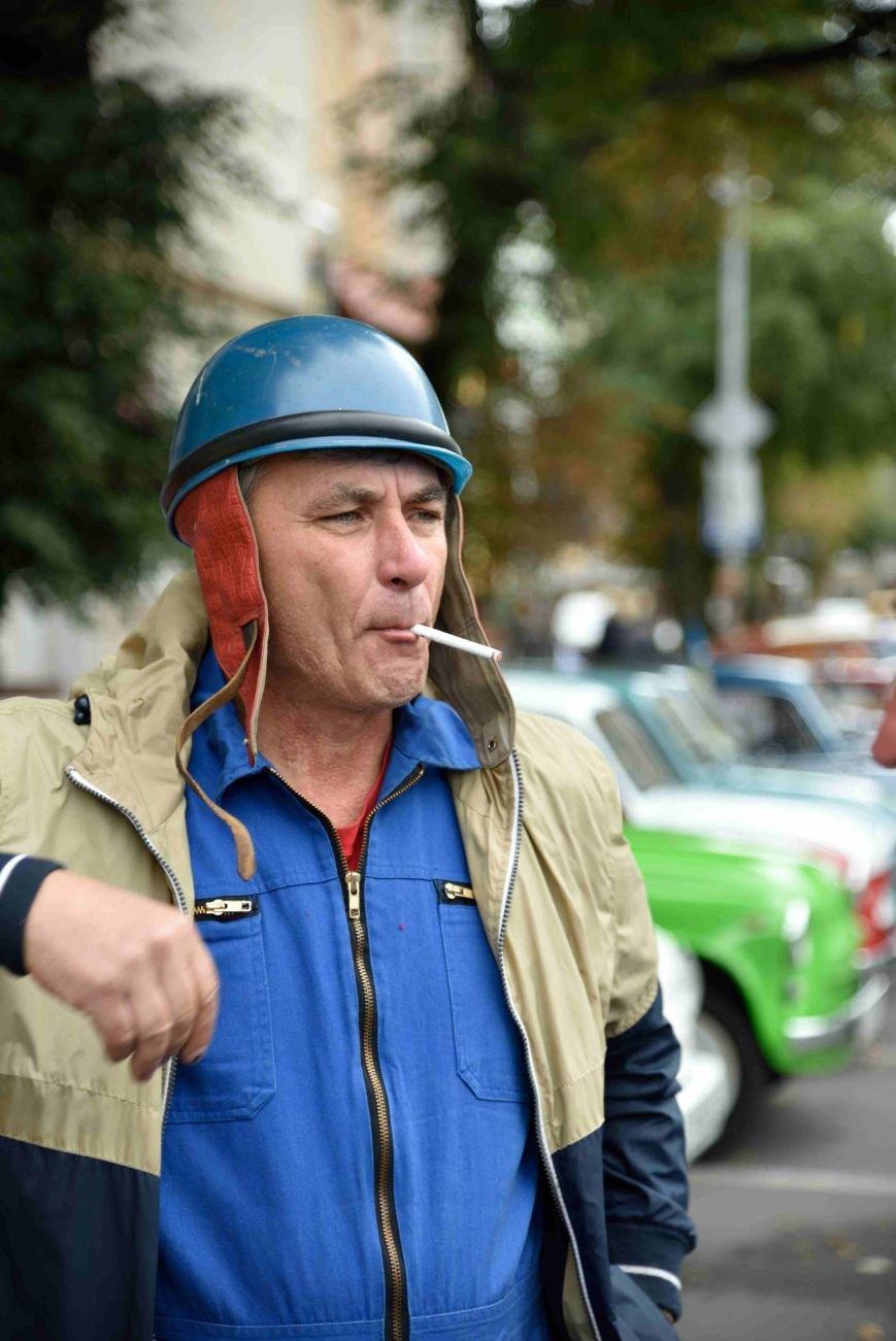 До Тернополя на ретро-автомобілі приїхали герої легендарної французької комедії (ФОТОРЕПОРТАЖ), фото-11